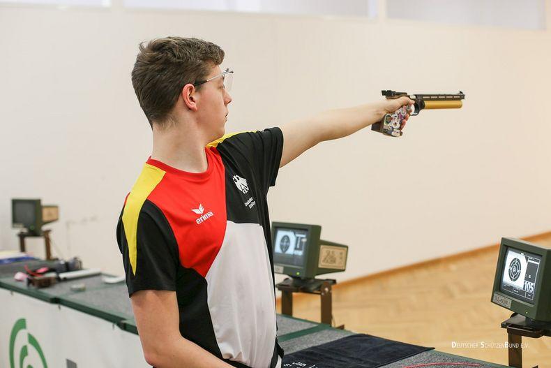 Bild: Karstedt / Jan-Luca Karstedt fand über den Laufbahnberater des Olympiastützpunktes seine Ausbildungsstelle.