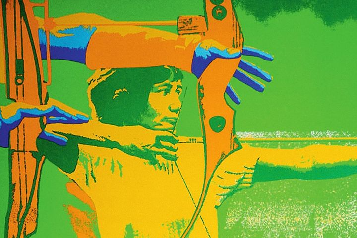 Plakat Olympische Spiele, 1972
