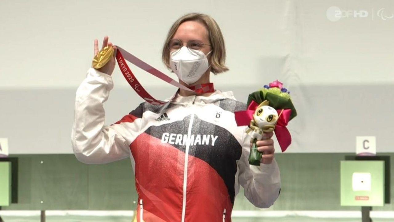 Foto: DSB / Natascha Hiltrop gewinnt nach Silber in Rio die Goldmedaille bei den Paralympics.