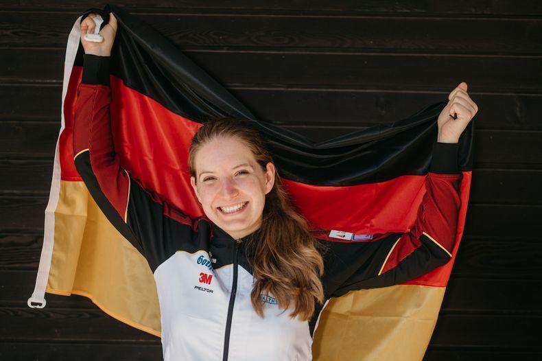 Foto: DSB / Für Deutschland das erste Mal bei Olympischen Spielen am Start: Doreen Vennekamp.