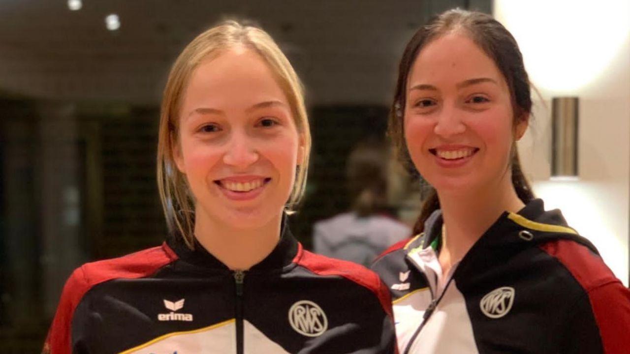 Foto: Janßen / Nach dem Podcast ist alles klar, wie man die Janßen-Schwestern unterscheiden kann: Franka (links) und Anna.