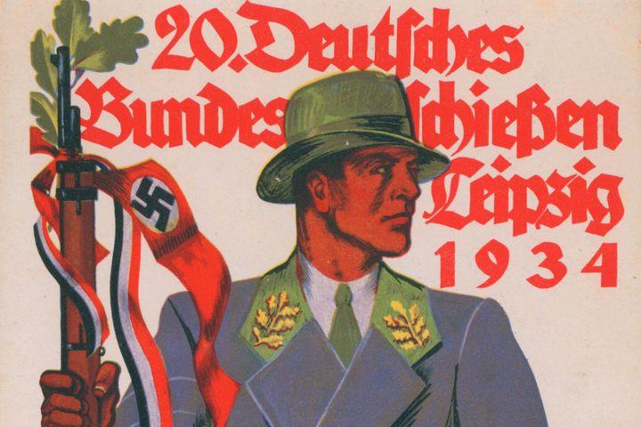 Ansichtskarte Bundesschießen, 1934