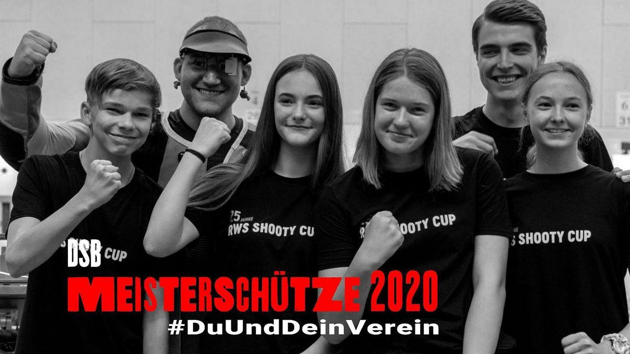 Foto: DSB / Meisterschütze 2020: #DuUndDeinVerein