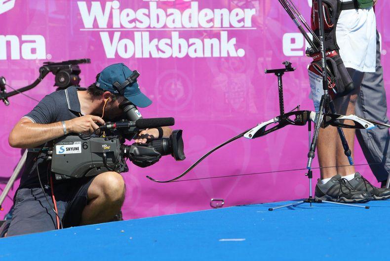 Foto: Frank Heinen / Ganz dicht dran: Dank TV- und Livestream-Übertragungen können alle bei der DM dabei sein.