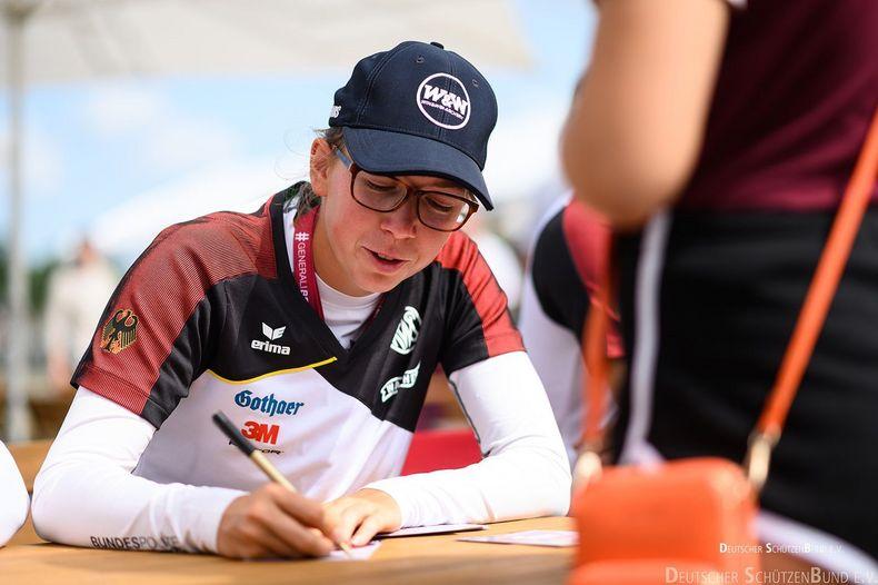 Foto: DSB / Elisa Tartler will sich beim Deutschland Cup in die Siegerlisten einschreiben.