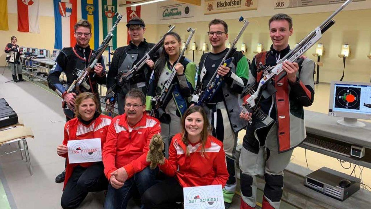 Foto: FSG Diessen / Das junge, bayerische Team der FSG Diessen darf sich im nächsten Jahr in der 1. Liga beweisen.