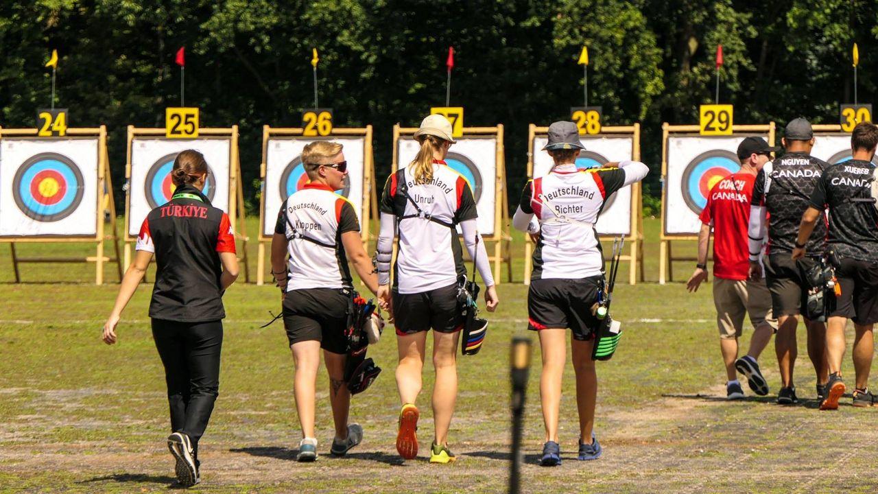 Foto: DSB / Michelle Kroppen, Lisa Unruh und Elena Richter sind natürlich sowohl bei der WM als auch beim Heim-Weltcup dabei.
