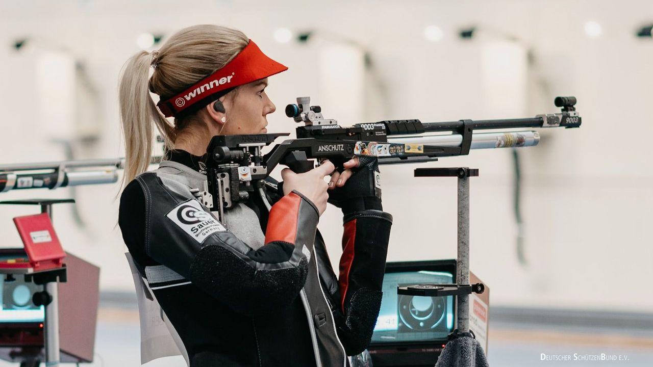 Foto: DSB / Julia Moser rangiert vor Teil zwei auf Rang drei in der EM-Qualifikation.