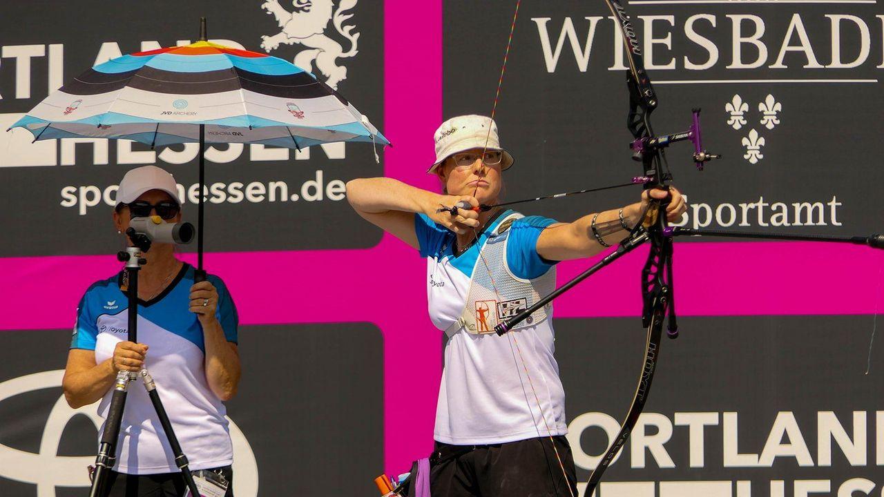 Bild: DSB / Lisa Unruhs Trainerin Natalia Butuzova ist im Hintergrund dafür verantwortlich, dass die Spitzensportler ihr volles Potential ausschöpfen können.