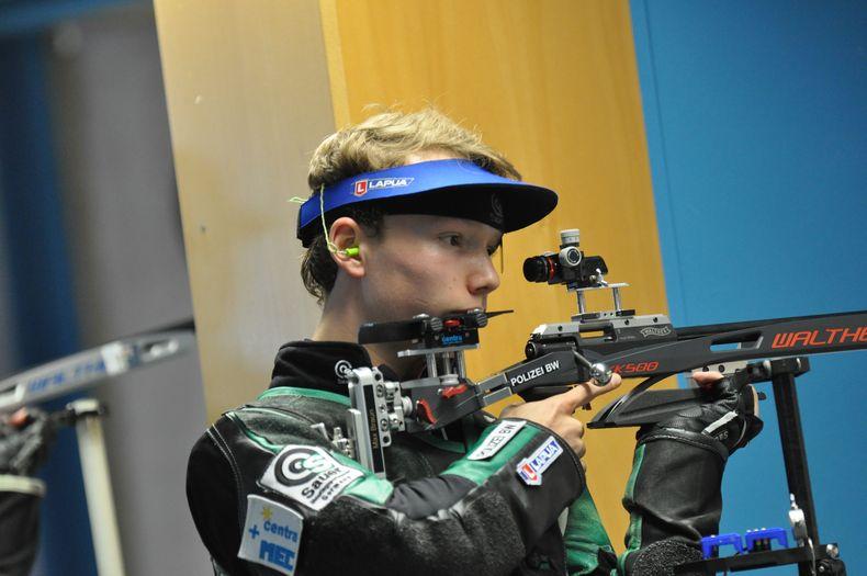 Foto: Harald Strier / Max Braun gewinnt zum dritten Mal in Folge mit dem Freien Gewehr.