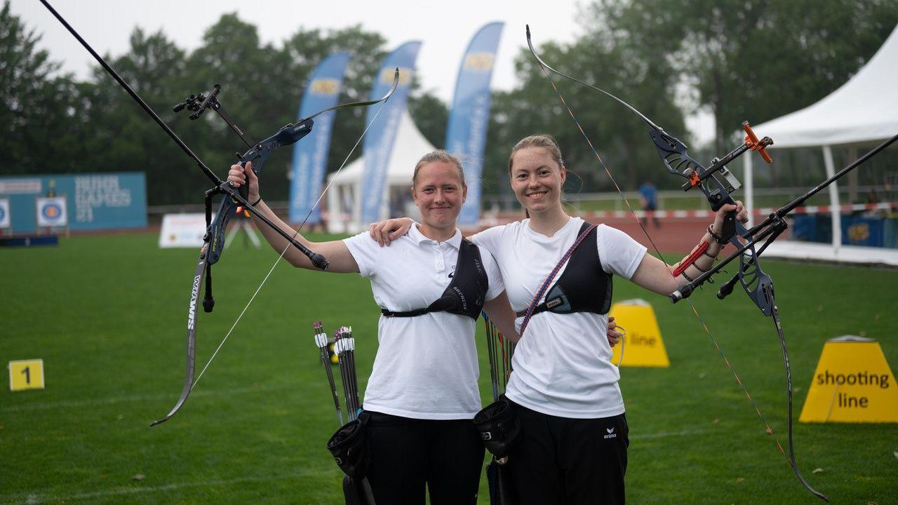 Bild: DSB / Raschke (li.) und Klinger (re.) hießen lieferten sich ein tolles Gold-Finale bei den Ruhr Games in Bochum.