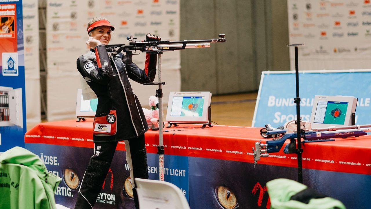 Bild: DSB / Eine erfolgreiche Sportlerin wie Julia Simon scheitert öfter als die Masse, weil sie sich öfter Herausforderungen stellt.