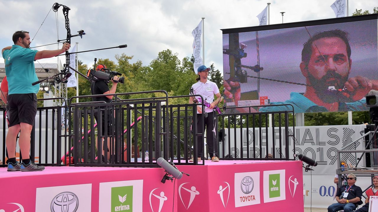 Foto: Eckhard Frerichs / Marcus Laube und Florian Stadler zeigten ein packendes Goldfinale.