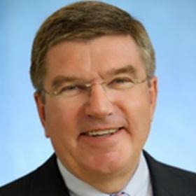 DSB-Präsident Heinz-Helmut Fischer gratuliert Thomas Bach