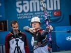 Weltcupfinale in Samsun: Lisa Unruh starke Vierte