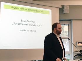"""Multiplikatorenseminar """"Schützenmeister, was nun?"""""""