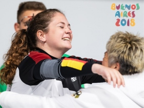 Youth Olympic Games in Buenos Aires: Gold für Pistolenschützin Vanessa Seeger im International Mixed Team Wettbewerb