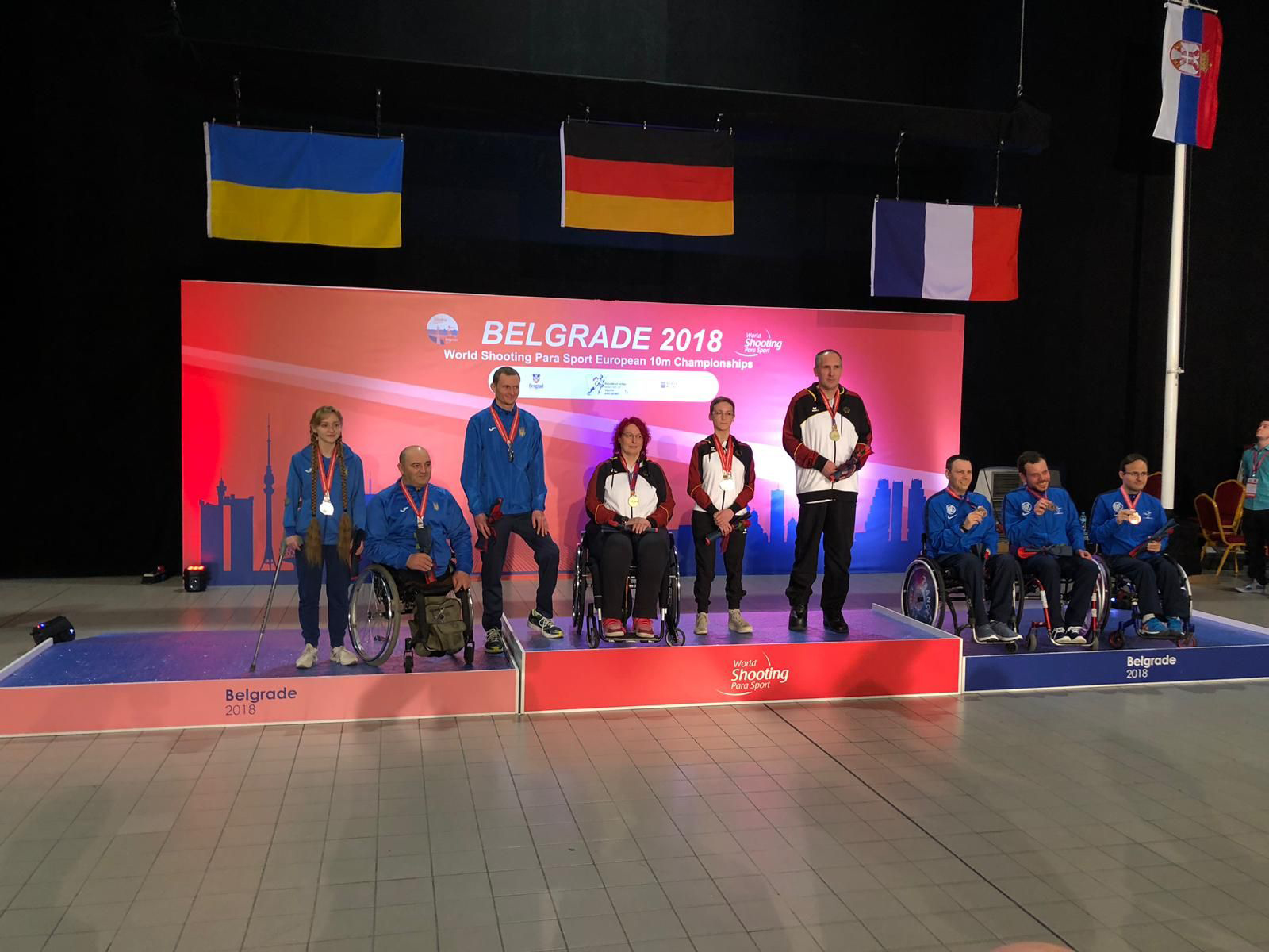 Sieger in Belgrad 2018