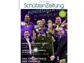 Deutsche SchützenZeitung: Bundesligafinals stehen im Mittelpunkt