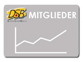 Erneuter Mitgliederzuwachs im DSB